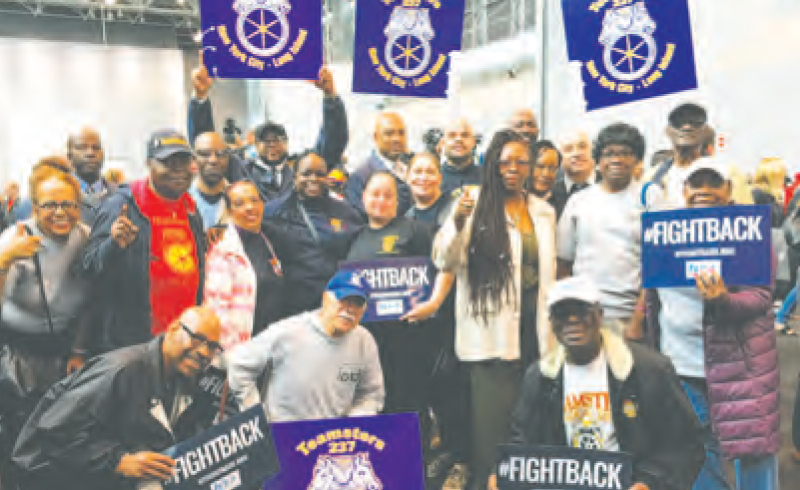 "Local 237 members and retirees join forces to ""fight back"""